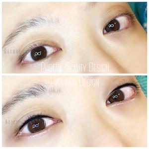 菲比所堅持的手工眼線-高雄眼線