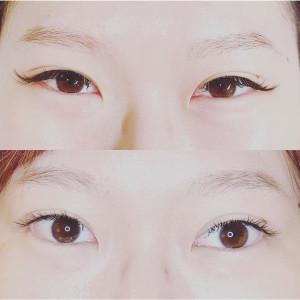 接了睫毛結果眼睛變小?!那是您找錯美睫師了!!!正確選擇睫毛種類-高雄美睫