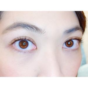 日式睫毛的天然有神